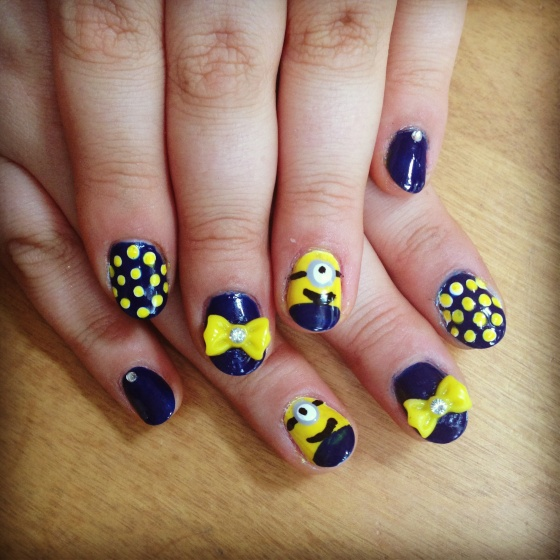 Despicable Me Nails!